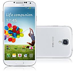 Samsung Galaxy S4 weiss